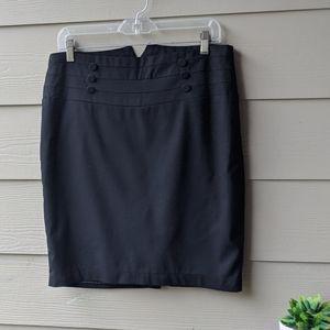 High Waist Fitted skirt